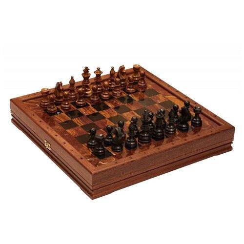 Rovertime Шахматы стандартные каменные Американские