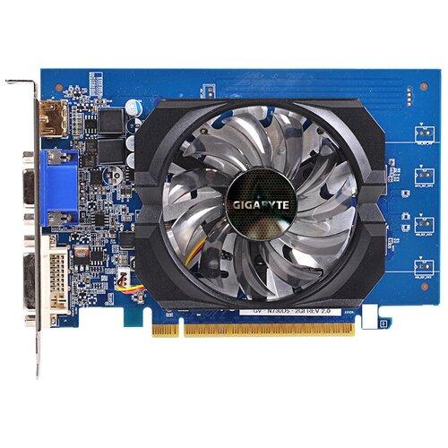 Видеокарта GIGABYTE GeForce GT 730 (GV-N730D5-2GI) rev. 2.0, Retail
