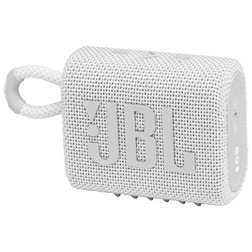 Портативная акустика JBL GO 3, white
