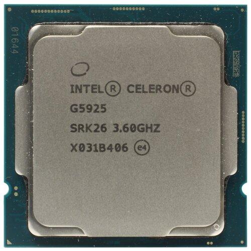 Процессор Intel Celeron G5925, OEM