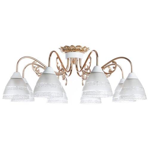 Люстра Arte Lamp Francesca A7072PL-8WG, E27, 480 Вт недорого