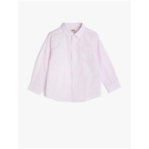 Рубашка KOTON размер 3-4 года (98-104), розовый