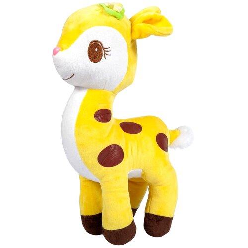 Мягкая игрушка Bebelot Жёлтый оленёнок 28 см
