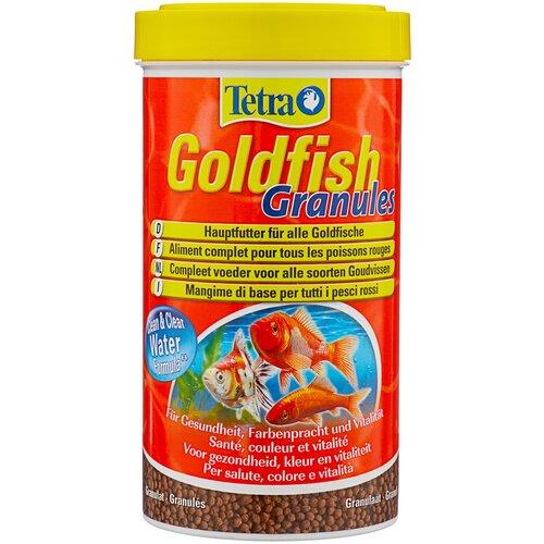 Фото - Сухой корм для рыб Tetra Goldfish Granules, 500 мл сухой корм для рыб tetra discus granules 100 мл