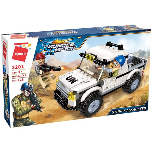 Купить Конструктор Qman Thunder Mission 3201 Атака Теда, Конструкторы
