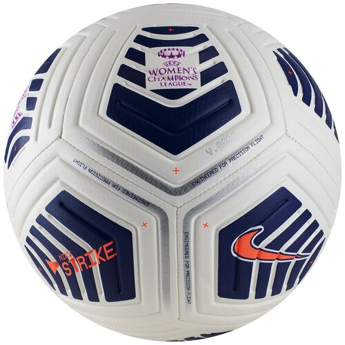 Мяч футбольный NIKE UEFA Women's CL Strike, р.4, арт.CW7225-100 недорого