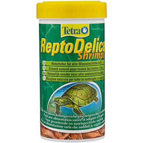 Сухой корм для рептилий Tetra ReptoDelica Shrimps, 250 мл maturation in penaeid shrimps