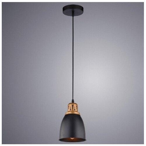 Потолочный светильник Arte Lamp Eurica A4248SP-1BK, E27, 60 Вт потолочный светильник arte lamp ferrico a9183sp 1bk e27 60 вт