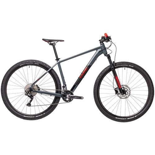 Горный (MTB) велосипед Cube Attention 27.5 (2021) grey/red 16 (требует финальной сборки) горный mtb велосипед kellys desire 90 2019 grey green m требует финальной сборки