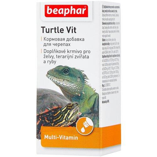 Витамины и добавки для рыб, рептилий Beaphar Turtle vit, 20 мл