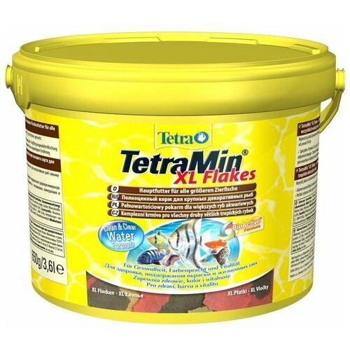 Фото - Сухой корм для рыб Tetra TetraMin XL Flakes 3600 мл сухой корм для рыб tetra tetramin xl flakes 1000 мл