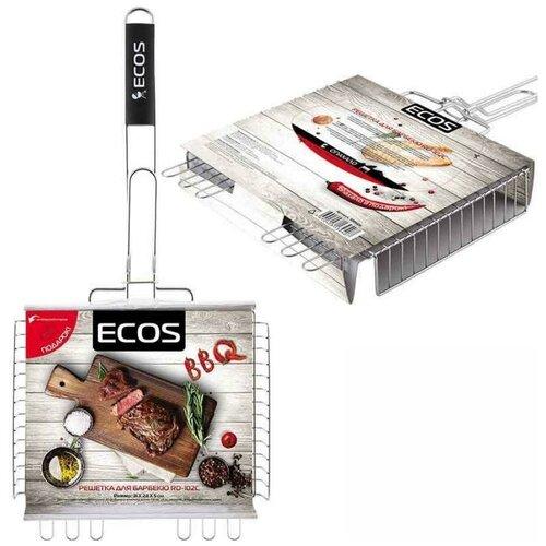Решетка ECOS RD-102C для барбекю, 31х24 см решетка для барбекю ecos fry 2025 999664