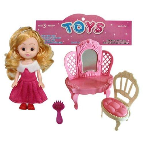 Кукла Наша Игрушка Модница, 15 см (W800-88) кукла наша игрушка модница 28 см аксессуары арт yx 628b