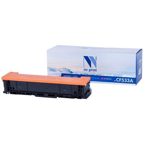 Картридж NV Print CF533A Magenta для HP, совместимый картридж nv print cf411a для hp совместимый