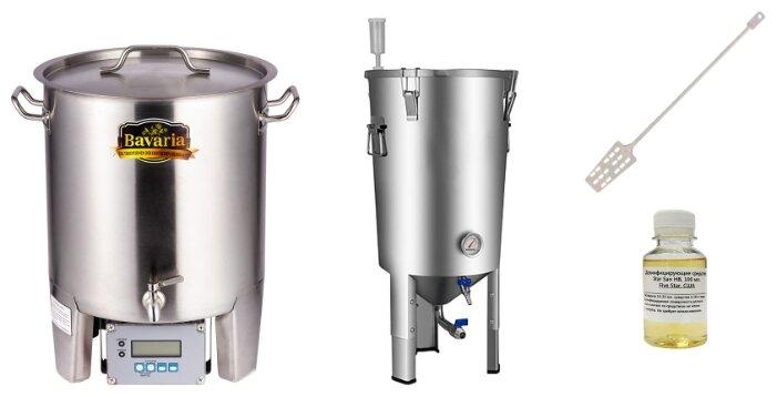 Мини-пивоварня Bavaria 50л с чиллером, ЦКТ фото 1