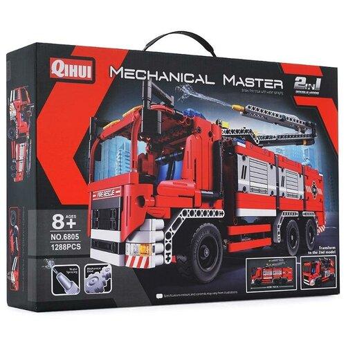 Конструктор QiHui Mechanical Master 6805 Пожарная машина