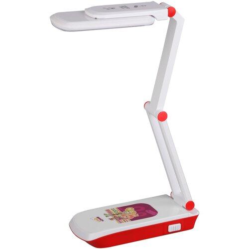 Лампа детская светодиодная ЭРА NLED-423-3W-R, 3 Вт, цвет арматуры: белый, цвет плафона/абажура: белый