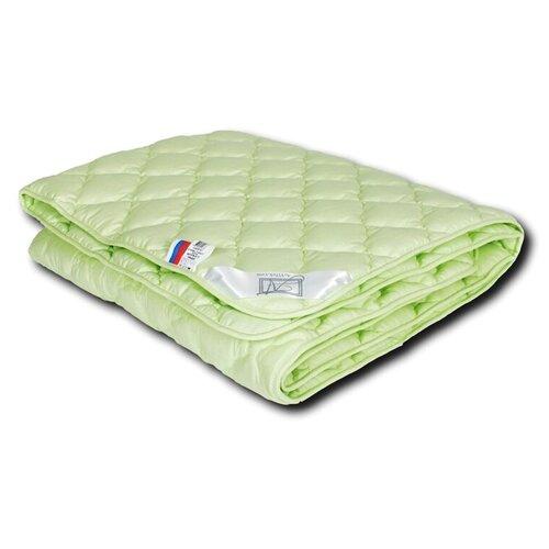 Фото - Одеяло АльВиТек Крапива-Стандарт, легкое, 172 х 205 см (зеленый) одеяло альвитек соната легкое 172 х 205 см бежевый