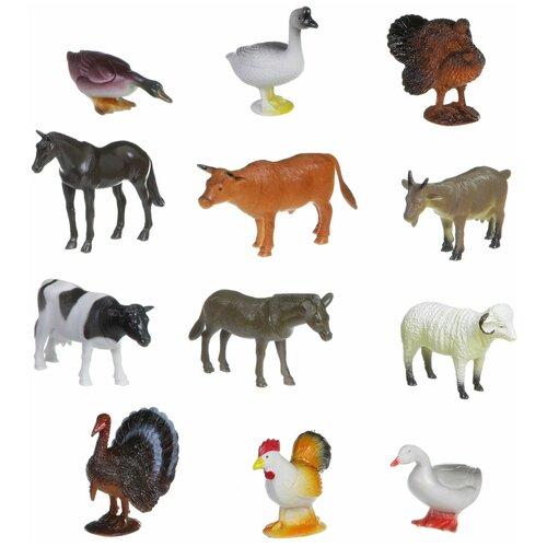 Фото - Игровой набор BONDIBON Ребятам о зверятах - Домашние животные и птицы ВВ1635 фигурки bondibon ребятам о зверятах домашние животные вв1637