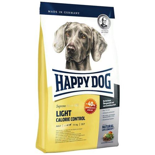 Сухой корм для собак Happy Dog Supreme Fit & Well, при склонности к избыточному весу 4 кг (для средних и крупных пород) корм сухой happy dog тоскана для собак средних и крупных пород с уткой и лососем 4 кг