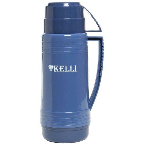 Классический термос Kelli KL-0943, 0.5 л синий