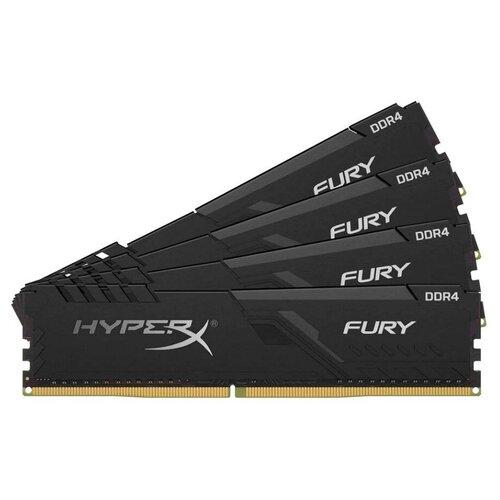 Оперативная память HyperX Fury 16GB (4GBx4) DDR4 3000MHz DIMM 288-pin CL15 HX430C15FB3K4/16