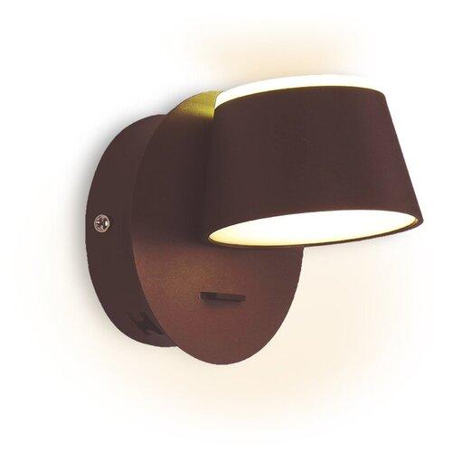 Фото - Настенный светильник Ambrella light FW168 CF/S кофе/песок, 10 Вт настенный светильник ambrella light fa565 wh s белый песок 13 вт