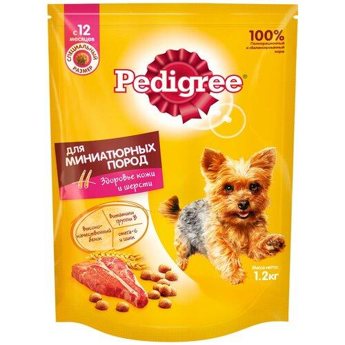 Фото - Сухой корм для собак Pedigree говядина 1.2 кг сухой корм для собак мелких пород pedigree говядина 2 2 кг