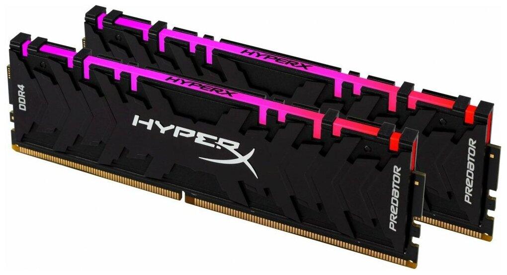 Оперативная память HyperX Predator RGB 64GB (32GBx2) 3000MHz CL16 (HX430C16PB3AK2/64) — цены на Яндекс.Маркете