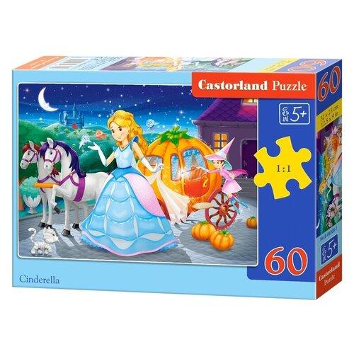 Пазл Castorland Cinderella (B-06908), 60 дет. пазл castorland cute kittens b 066087 60 дет