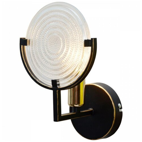 Фото - Настенный светильник Toplight Roxana TL1194B-01BK, 40 Вт настенный светильник toplight gertrude tl1138 1w 40 вт