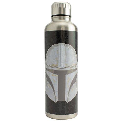Термобутылка Paladone Star Wars Mandalorian, 0.5 л черный