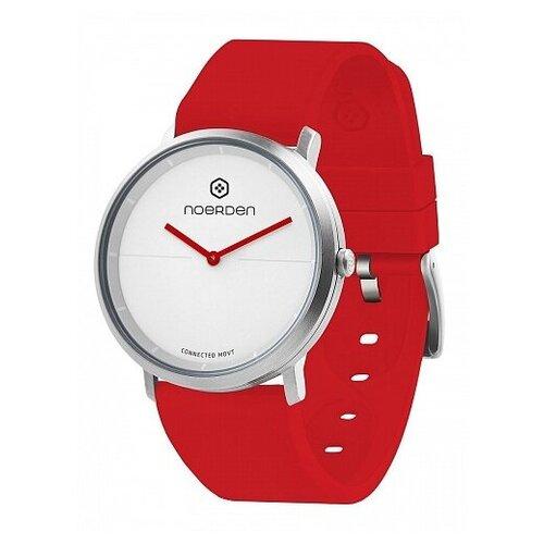 Смарт-часы Noerden гибридные LIFE2 красные