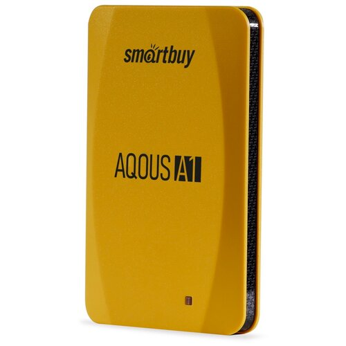 Фото - Внешний SSD Smartbuy Aqous A1 1TB USB 3.1 ЖЕЛТЫЙ внешний ssd smartbuy aqous a1 512gb usb 3 1 серый