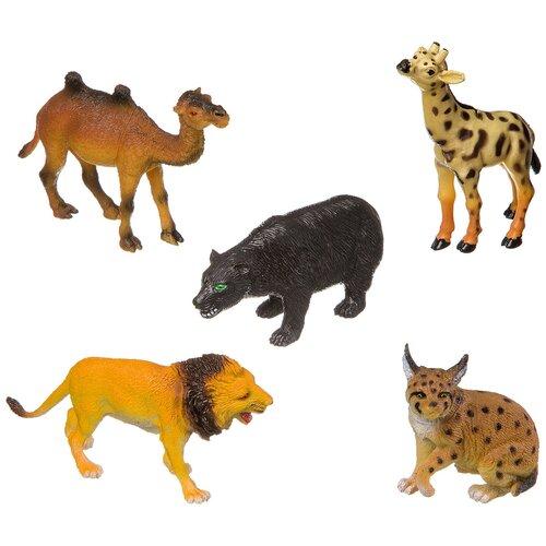 Фото - Фигурки BONDIBON Ребятам о зверятах - Дикие животные ВВ3138 фигурки bondibon ребятам о зверятах домашние животные вв1637