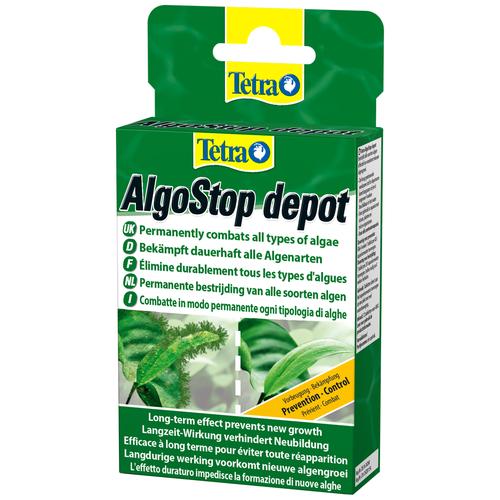 Фото - Tetra AlgoStop depot средство для борьбы с водорослями, 12 шт. tetra pond algofin средство для борьбы с водорослями в водоемах 1 л