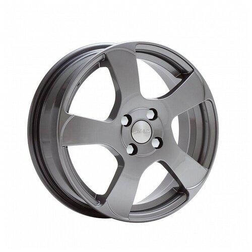 Фото - Колесный диск SKAD Акула 6х16/4х100 D54.1 ET52, 6.3 кг, графит колесный диск skad магнум 5 5х14 4х98 d58 6 et38 6 8 кг графит