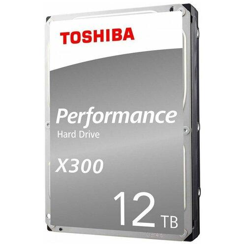 Жесткий диск Toshiba 12 TB HDWR21CUZSVA жесткий диск toshiba 4 tb hdwt140uzsva серебристый