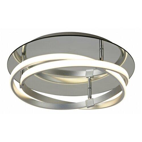 Фото - Люстра светодиодная Mantra Infinity 5382, 30 Вт, цвет арматуры: серый люстра mantra 0004045 198 вт