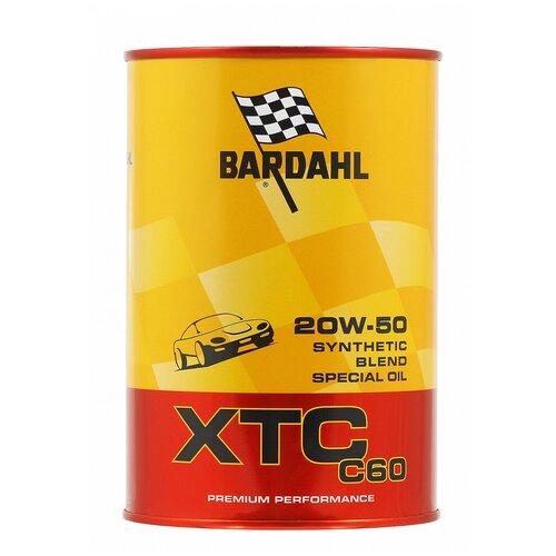 Фото - Синтетическое моторное масло Bardahl XTC C60 20W-50, 1 л синтетическое моторное масло bardahl xtc c60 off road 10w 40 1 л
