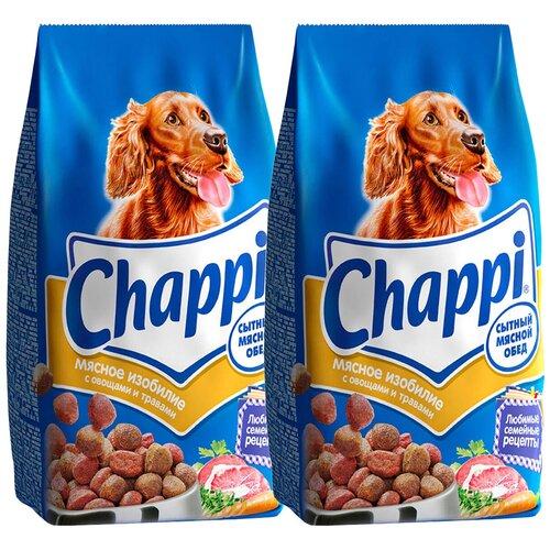 Фото - Сухой корм для собак Chappi Мясное изобилие, мясное ассорти, с овощами, с травами 2 шт. х 15 кг сухой корм для собак clan 15 кг family сухой корм мясное ассорти 15 кг