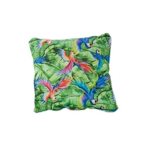 Подушка декоративная Этель Попугай (4264624), 45 х 45 см зелeный