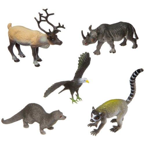 Фото - Фигурки BONDIBON Ребятам о зверятах - Дикие животные BB3139 фигурки bondibon ребятам о зверятах домашние животные вв1637