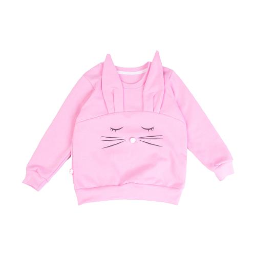 Свитшот KotMarKot размер 92, розовый