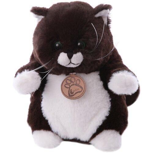 Мягкая игрушка Lapkin Толстый кот горький шоколад 26 см