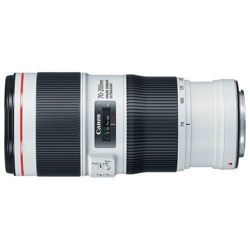 Фото - Объектив Canon EF 70-200mm f/4L IS II USM черный/белый объектив canon ef 70 200 mm f 2 8 l usm