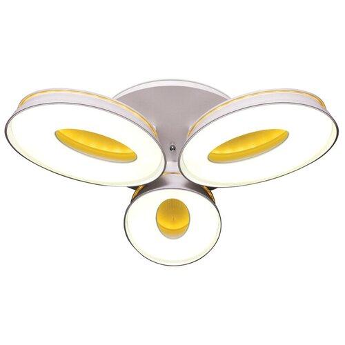Светильник светодиодный Ambrella light FG1020/3 WH 72W+36W D780, LED, 54 Вт светильник светодиодный ambrella light f130 wh gd 72w d500 orbital led 72 вт