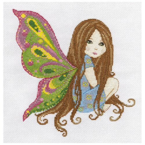 Купить Klart Набор для вышивания Фея Ли 25 х 25 см (8-204), Наборы для вышивания