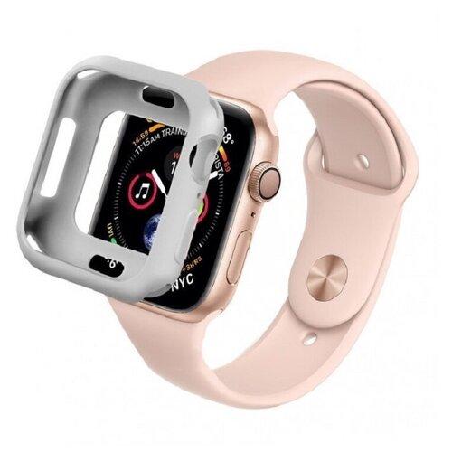 Чехол COTEetCI для Apple Watch 40mm серый