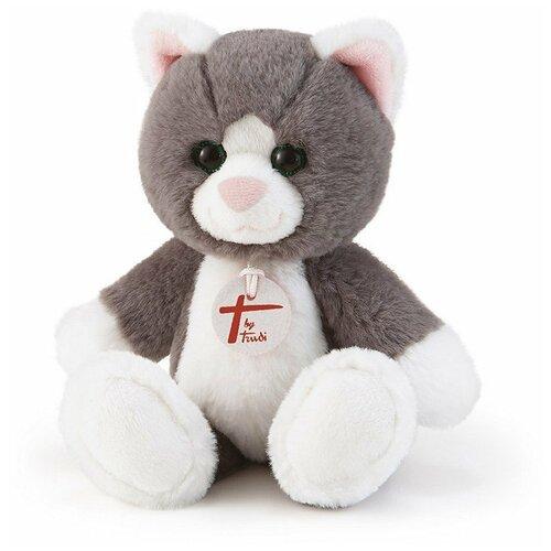 Мягкая игрушка Trudi Кошечка серая 28 см мягкая игрушка trudi заяц белый 28 см